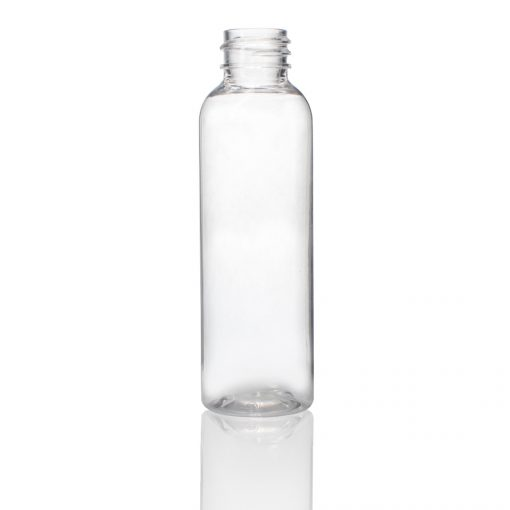 2 oz PET Cosmo Round Bottle with 20-410 Neck Finish
