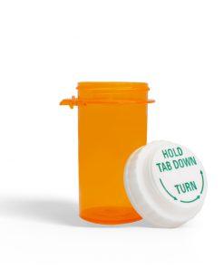 16 Dram Amber Prescription Bottle