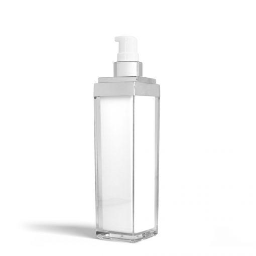 50 ml Square Acrylic Treatment Pump Bottle (No Cap)