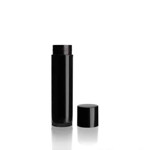 0.15 oz Black Lip Balm Tube