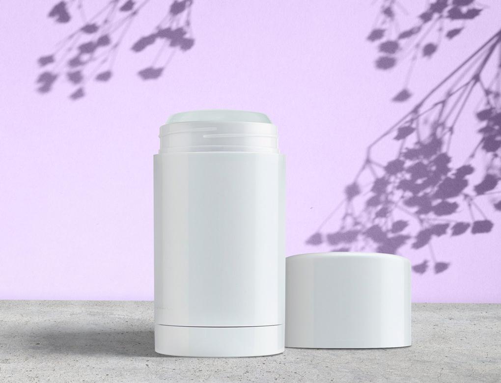 Screw Top Twist Up Deodorant Container Skincare Packaging