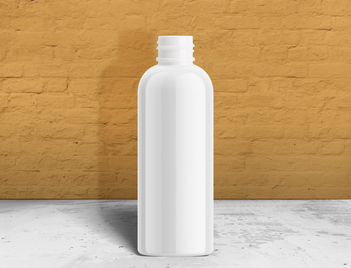 Cosmo Round PET Plastic Bottle FH Packaging Wholesale Container and Packaging Company