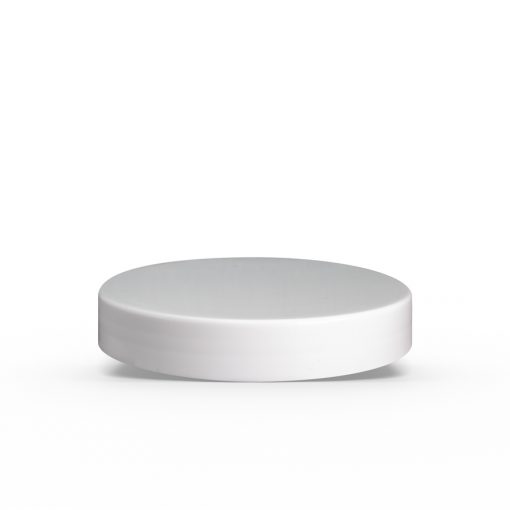 White 89-400 Smooth Skirt Lid with Liner