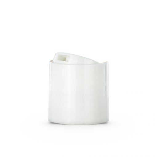 24-410 White Smooth Wall Disc Top Cap