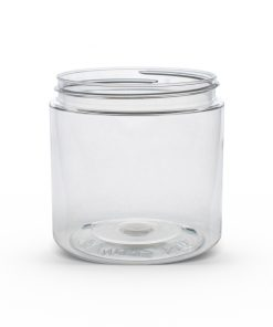 19 oz Clear PET Straight Sided Jar 89-400 Neck Finish