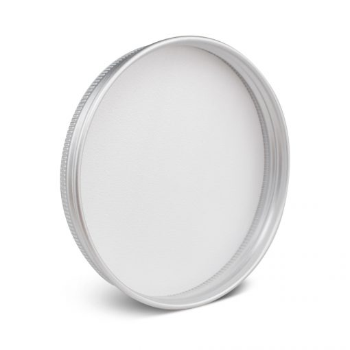 89-400 Silver Aluminum Screw Top Cap Liner