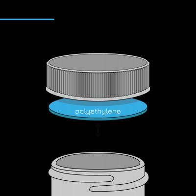 Types of Seals: PE Polyethylene Foam Liner Infographic