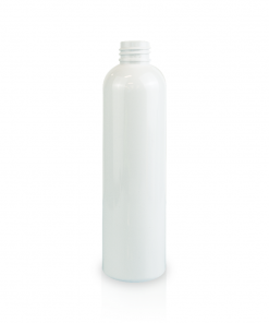 8 oz PET White Cosmo Bottle FH Packaging