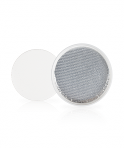 White PP Smooth Skirt Lid with Universal Heat Seal Liner