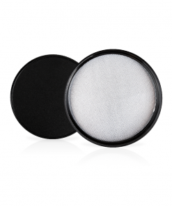 Black Ribbed Skirt Lid with Universal Heat Seal Liner