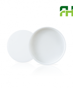 70-400PCR WhiteSmooth Skirt Lid with Liner